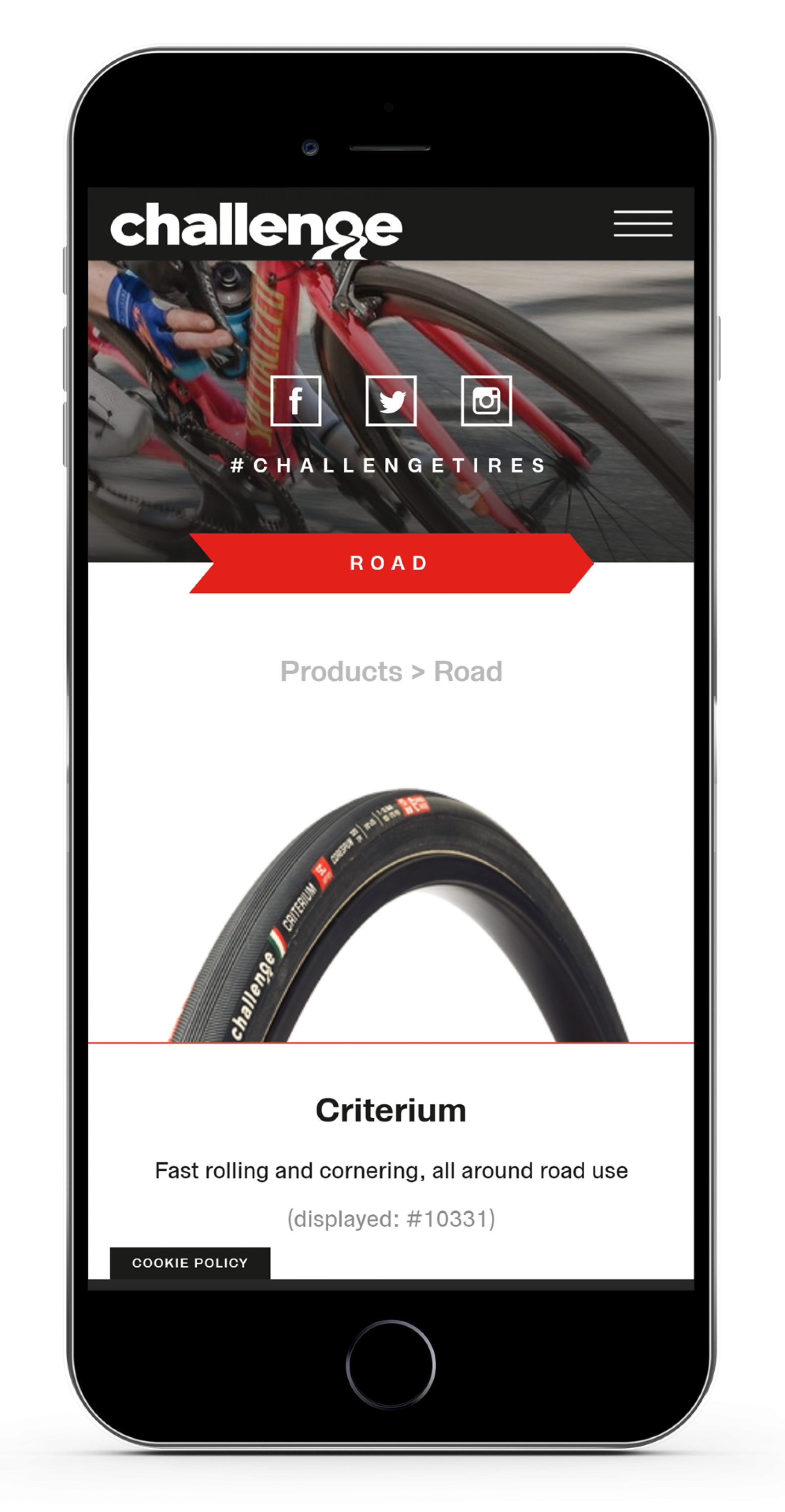Phone Mockup Challengetires Com Products Overview